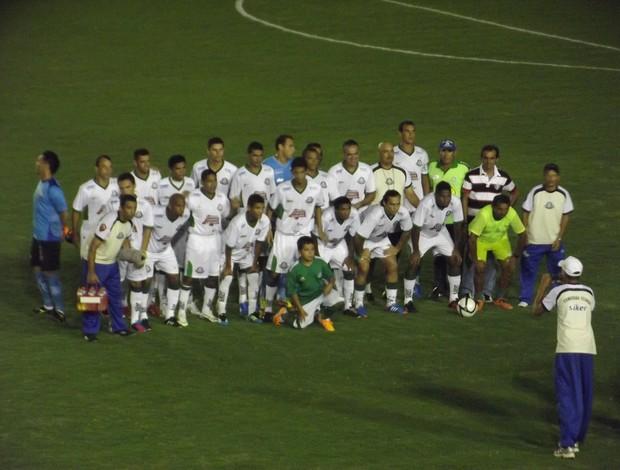 Palmeira vence clássico genérico e assume a liderança do Campeonato Estadual (Foto: Arthur Barbalho/GLOBOESPORTE.COM)