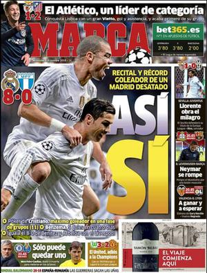 Jornal Marca Cristiano Ronaldo (Foto: Reprodução / Marca)
