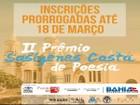 Prêmio Sosígenes Costa de Poesia prorroga inscrições para 18 de março