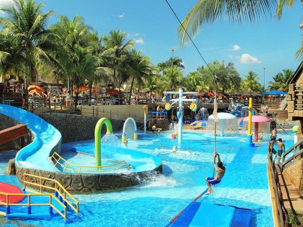 Parque aquático de Olímpia está entre os 5 maiores do mundo (Foto: Divulgação)