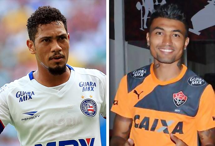 Matéria Hernane e Kieza (Foto: GloboEsporte.com)