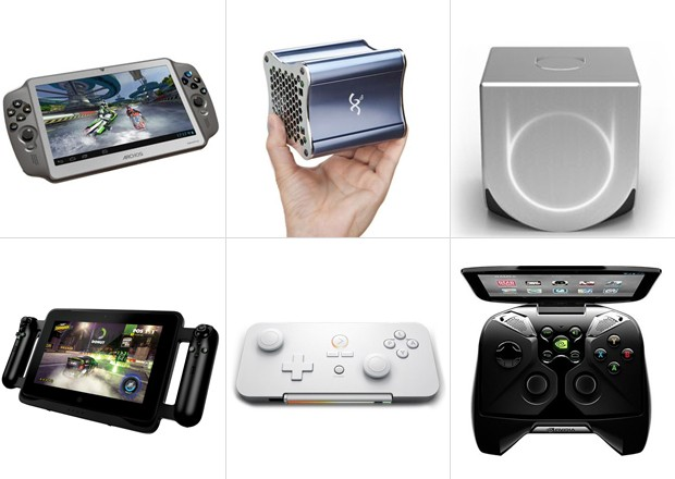 Os novos 'videogames' que prometem rivalizar com os atuais consoles (Foto: Divulgação)
