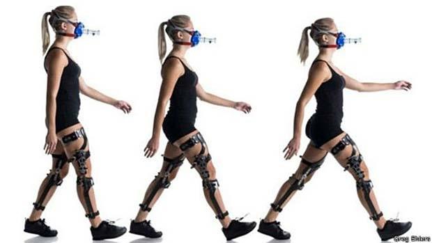 Pesquisa mostrou que o sistema nervoso reprograma movimentos para gastar o menos de energia possível (Foto: Greg Ehlers/ BBC)