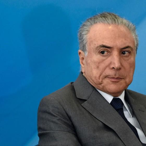 Michel Temer,presidente do Brasil (Foto:  MATEUS BONOMI/AGIF/ESTADÃO CONTEÚDO)