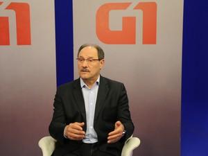 Sartori governo RS entrevista (Foto: Paula Menezes/G1)