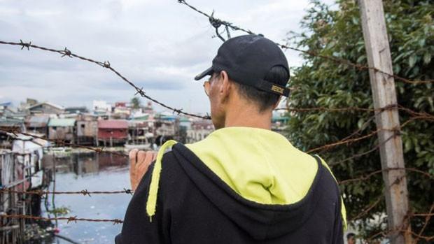 Roger* é traficante e viciado em 'shabú' (Foto: BBC/Jonathan Head)