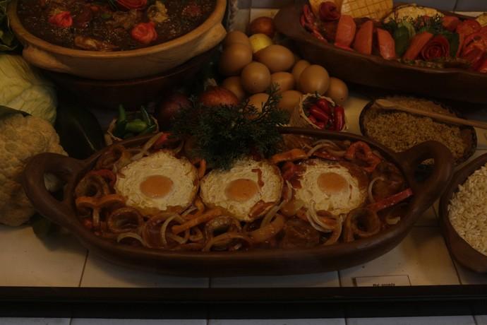 Ovos estrelados (Foto: Luan Esquivel/TV Bahia)