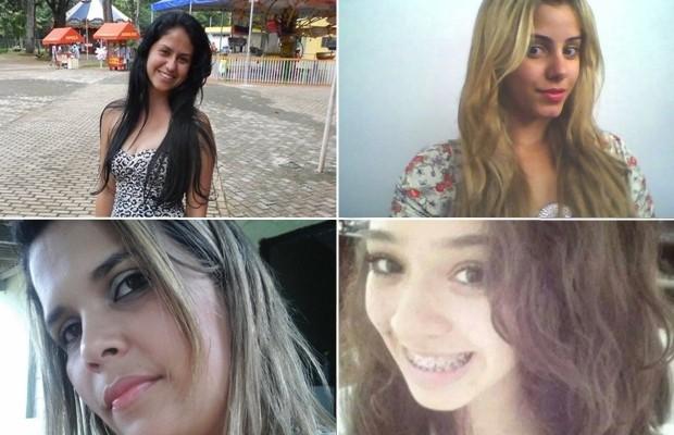 Vítimas do suspeito de ser o serial killer, em Goiânia, Goiás (Foto: Arquivo Pessoal)