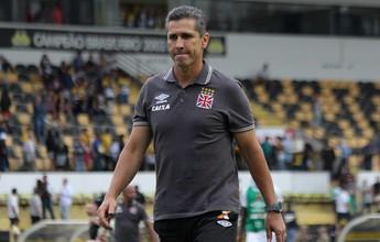 Jorginho pensou em deixar o Vasco por desentendimento com Euriquinho