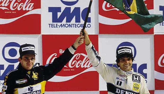 BLOG: Há 30 anos: Piquet, Senna e a bandeira