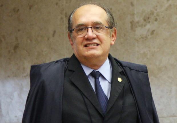 O ministro do STF, Gilmar Mendes, durante sessão plenária do Supremo Tribunal Federal (Foto: Carlos Humberto/SCO/STF)