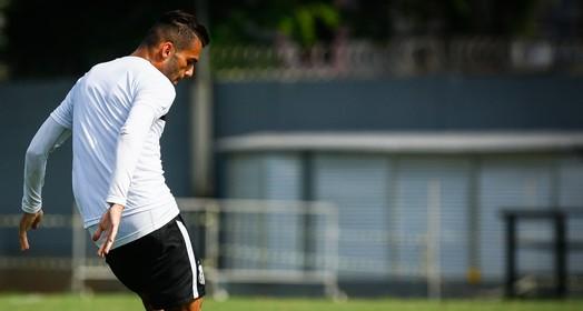 Tá em casa (Ricardo Saibun / Divulgação Santos FC)