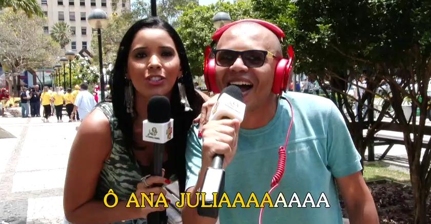 O povo cearense entra no clima do The Voice Brasil. (Foto: Produção / Se Liga VM)