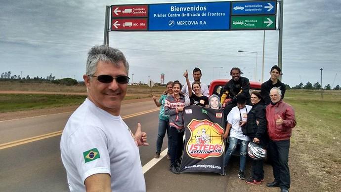 Istepôs ao chegarem no Brasil (Foto: Istepôs Aventureiros/Divulgação)