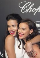 Festa em Cannes, na França, reúne beldades como Irina Shayk e Adriana Lima