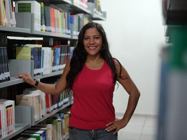 A merendeira Luana Coutinho concluiu o mestrado em Roraima (Foto: Inaê Brandão/G1 RR)