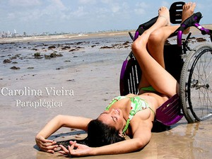 Imagem que compõe mostra 'Beleza que quebra barreiras', que está em Piracicaba (Foto: Kica de Castro)