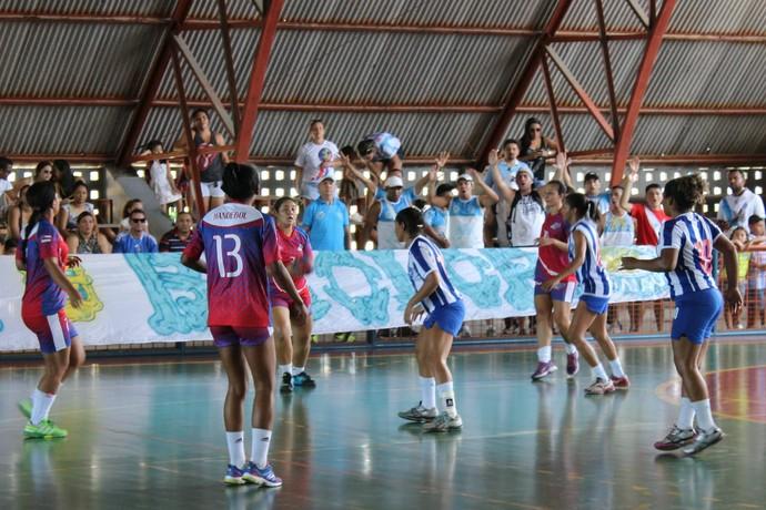 Campeonato Handebol (Foto: Matheus Castro)