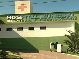 Bebê chegou a ser levado a um hospital de Pires do Rio, mas não resistiu aos ferimentos, em Goiás (Foto: Reprodução/ TV Anhanguera)