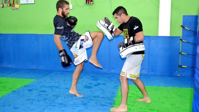 João Paulo Almeida, lutador de MMA do Acre  (Foto: Nathacha Albuquerque)