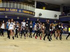 De salto alto, candidatos tentam vaga para ser Beyoncé na Unidos da Tijuca
