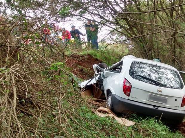 Colisão ocorreu na BR-285, em Passo Fundo (Foto: Divulgação/Rádio Planalto)