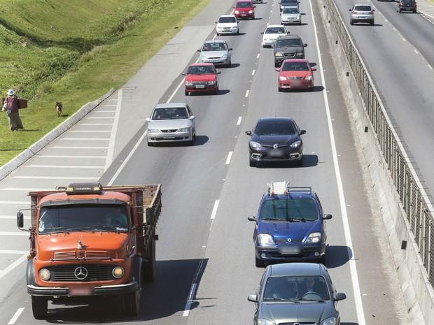 Fiscalizações da PRF e da PRE duraram cinco dias nas estradas do Paraná  (Foto: Divulgação / Ecovia )