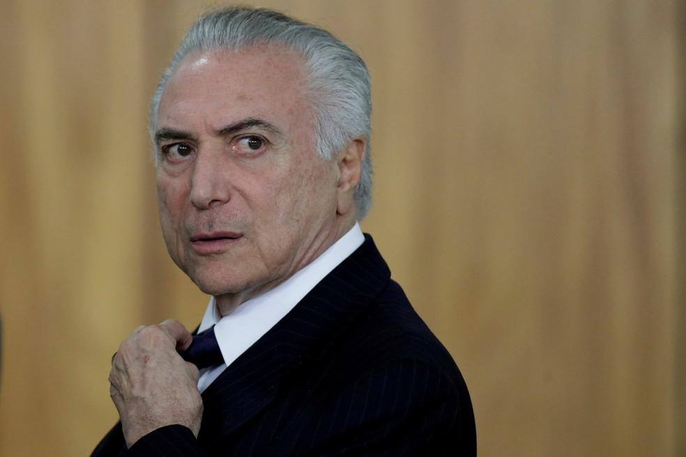 O presidente Michel Temer (Foto: Ueslei Marcelino/Reuters/Arquivo)
