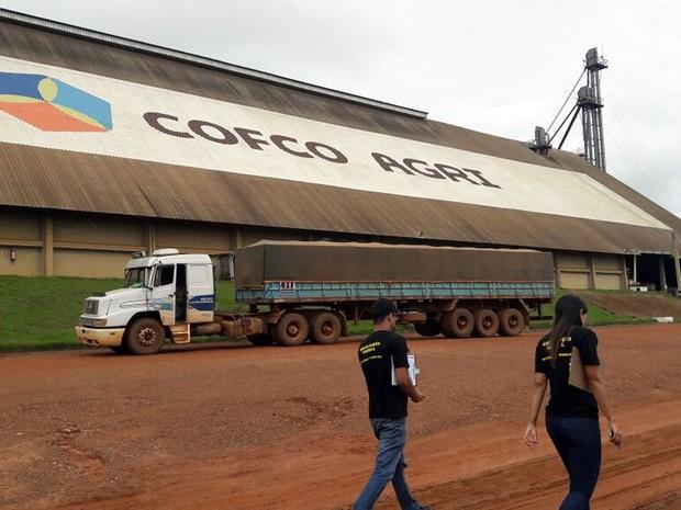 COFCO AGRI (3) (Foto: Equipe de Fiscalização / SRTE/MT)
