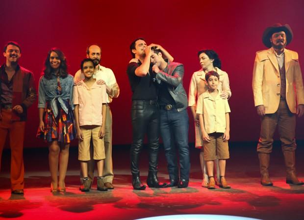 Filhos de Franscisco (Foto: Marcos Ribas; Brazil News)