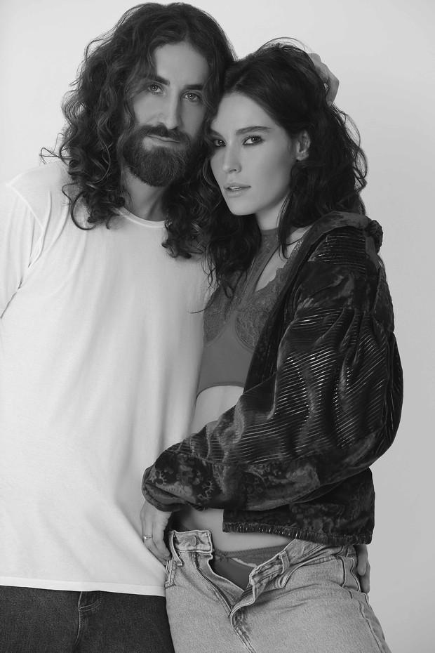 Ellen Milgrau e Leonardo Stroka (Foto: Valisére/Divulgação)