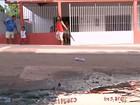 Esgoto invade áreas escolares e prejudica estudantes em São Luís