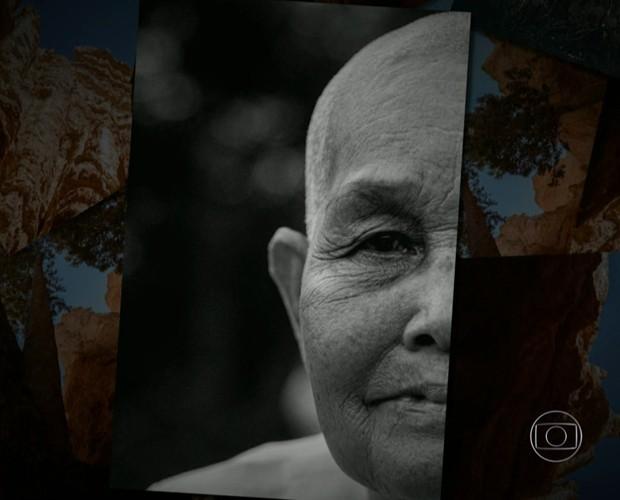 Foto de que Junior Lima tirou durante viagem de lua de mel e que estará na exposição (Foto: TV Globo)