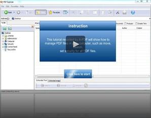 Oraganizador de PDF, programa para PDF, A-PDF Explorer