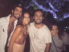 Sem Neymar, Bruna Marquezine emenda duas baladas no Rio
