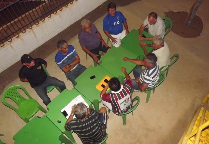 Parnahyba reunião diretoria (Foto: Gláucio Rezende)