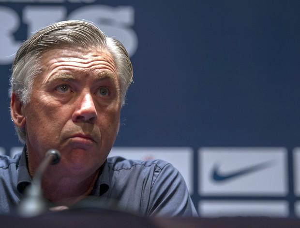 Carlo Ancelotti técnico Paris Saint-Germain (Foto: AFP)