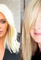 Susana Werner se inspira em Kim Kardashian e muda o visual