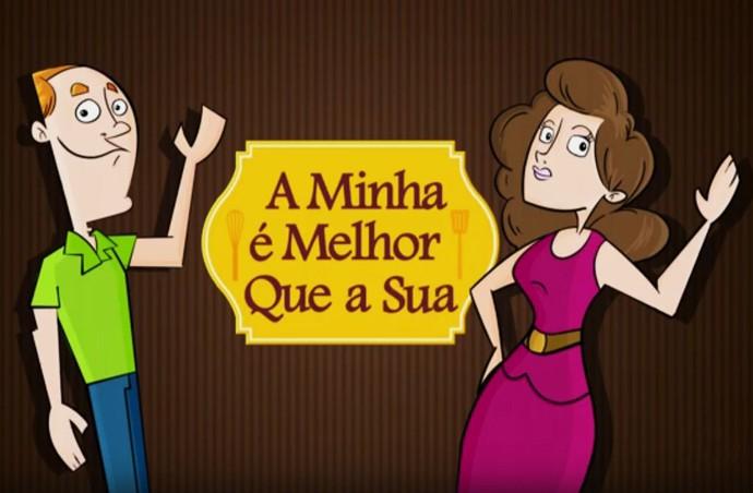 A Minha é Melhor que a Sua - logo quadro (Foto: TV Globo)