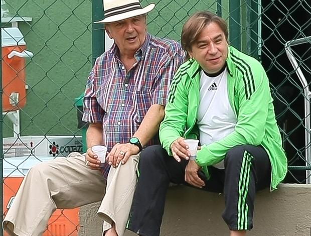 Arnaldo Tirone e Roberto Frizzo Palmeiras (Foto: CESAR GRECO/FOTOARENA/ESTADÃO CONTEÚDO)