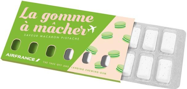 Goma de mascar da Air France (Foto: Divulgação)