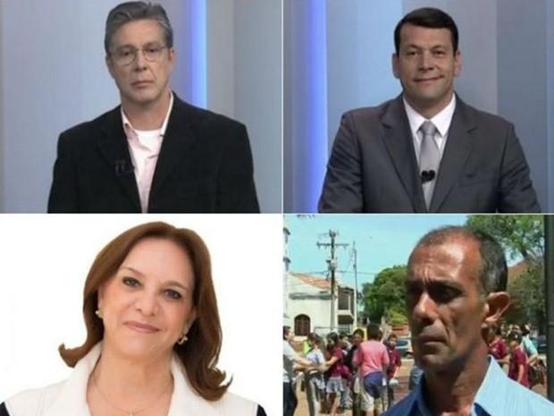 Candidatos a prefeito de  Tatuí  (Foto: G1)