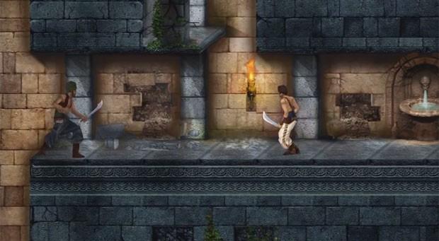 Cena do remake de 'Prince of Persia 2' para celulares e tablets (Foto: Divulgação/Ubisoft)