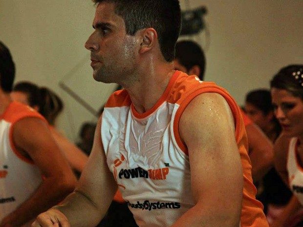 Victor começou a gostar de fazer exercício físico e se acostumou com seu novo estilo de vida (Foto: Arquivo pessoal/Victor Vieira de Moraes Neto)