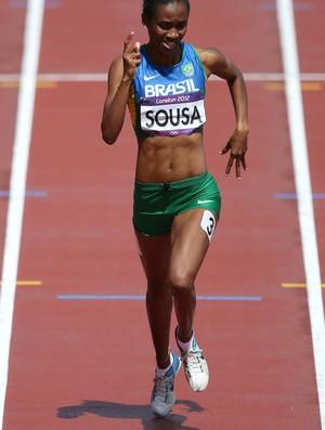 atletismo joelma sousa 400m londres 2012 (Foto: Agência Getty Images)