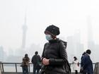 Poluição atmosférica atinge nível perigoso em Xangai