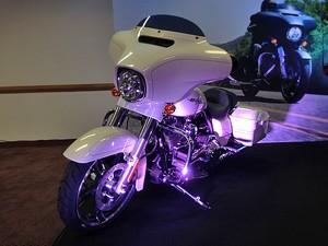 Harley-Davidson Street Glide Special (Foto: Rafael Miotto/G1)