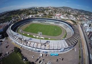 Estádio Olímpico Grêmio imagens aéreas (Foto: Drone Service Brasil/Divulgação)