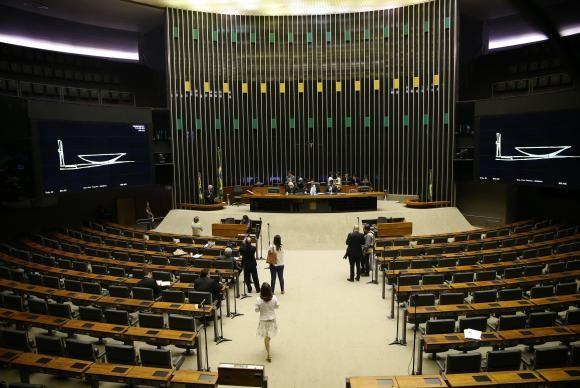 Plenário da Câmara dos Deputados  (Foto: José Cruz/AgenciaBrasil)