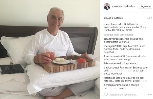Marcelo Rezende (Foto: Reprodução/Instagram)